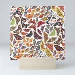 Saturniid Moths of North America Pattern Mini Art Print