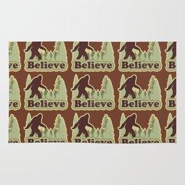 Bigfoot Believe Rug