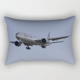 Qatar Airlines Boeing 777 Rectangular Pillow