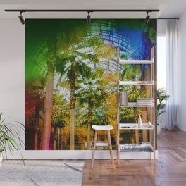 Conservatory  in the earlier WTC Wall Mural