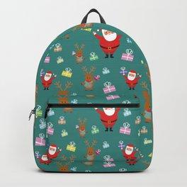 SANTA GIFTS PATTERN Backpack