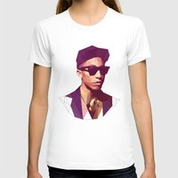 hip hop T-shirts featuring Hip hop poly by Breno Bitencourt