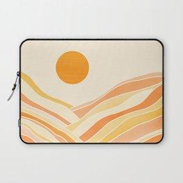 Golden Mountain Sunset Laptop Sleeve