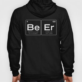 The Element of Beer - Beer Periodic Table of Elements, Nerdy Hoody