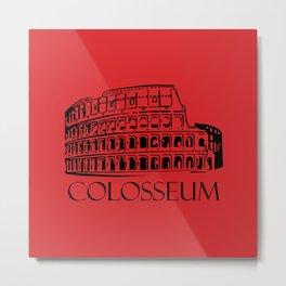 Colosseum, Rome Metal Print