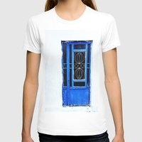 greek T-shirts featuring Greek Blue by Steve P Outram