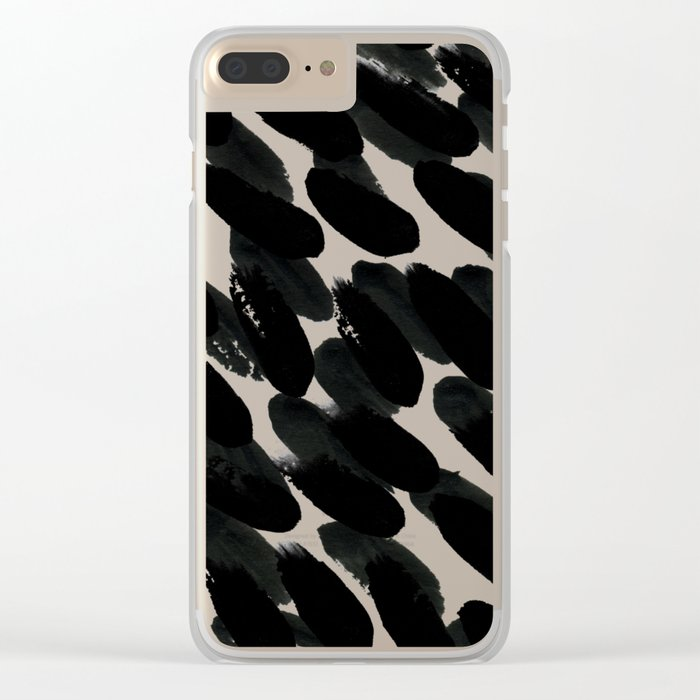 Pattern112 Clear iPhone Case