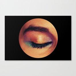 sunset eyes Canvas Print