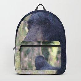 Watercolor Black Bear 33, Drake, Colorado Backpack