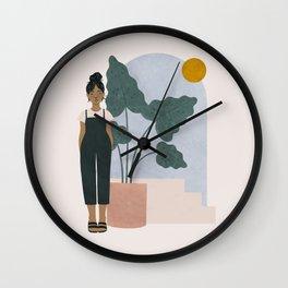 taro Wall Clock
