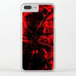 Anger Explosion Clear iPhone Case