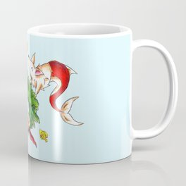 Coral Wreath Coffee Mug