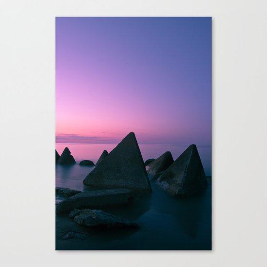 Ocean's Teeth Canvas Print