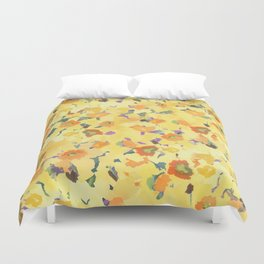 Daffodil Fields Duvet Cover