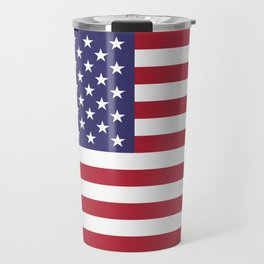 National flag of USA - Authentic G-spec 10:19 scale & color Travel Mug