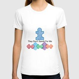 Autism Speaks Doesn't Speak for Me T-shirt