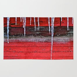 Chicken Coop Icicles Rug