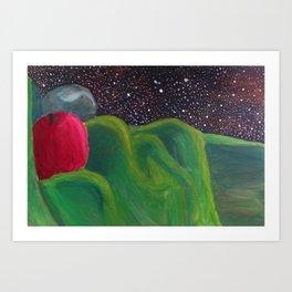 Galactic Date Art Print