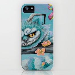 grinningcat iPhone Case