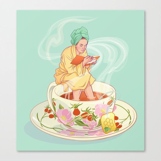 Cure for the common cold Canvas Print