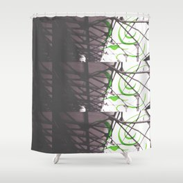 With Him Shower Curtain