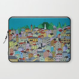 Corfu Town Laptop Sleeve