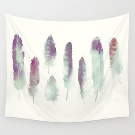 Feathers // Birds of Prey Wall Tapestry
