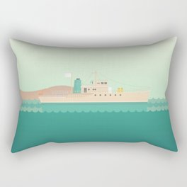 The Life Aquatic with Steve Zissou Rectangular Pillow