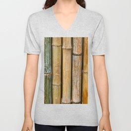 Weathered Bamboo Unisex V-Neck