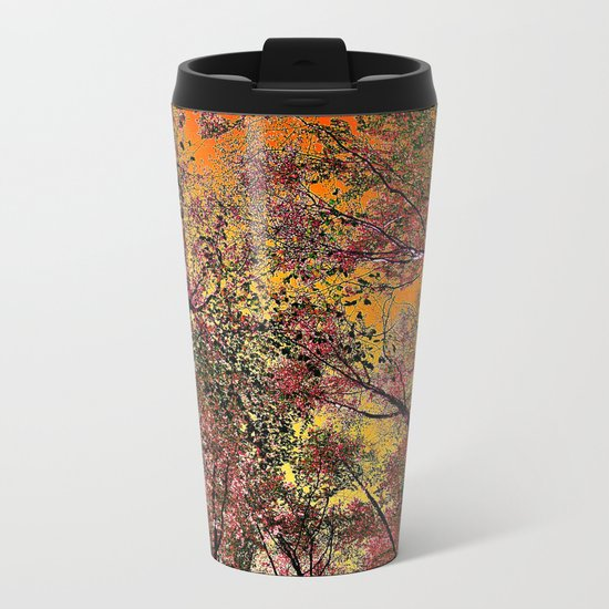 Colored forest Metal Travel Mug