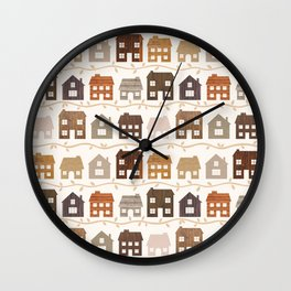 Modern Country Farmhouses Wall Clock