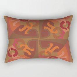 Peace is Subtle Mandala Rectangular Pillow