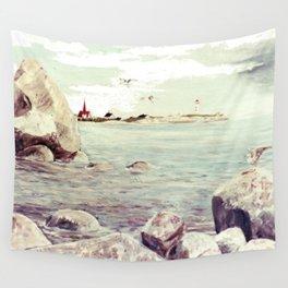 Peggy's Cove, Nova Scotia, CANADA   by Kay Lipton Wall Tapestry