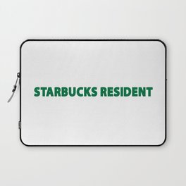 starbucks resident Laptop Sleeve