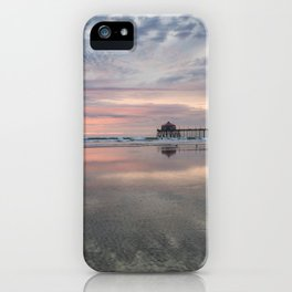 HB SUNSET 1-3-18 iPhone Case