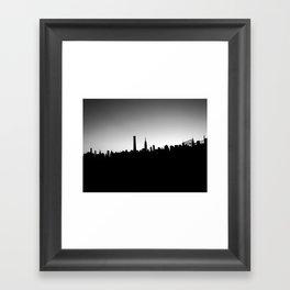 New York Skyline III Framed Art Print