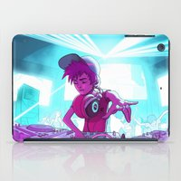 dj iPad Cases featuring DJ by Pere Devesa