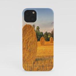 Sunset Harvest  iPhone Case