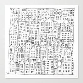 Coit City Pattern 1 Canvas Print