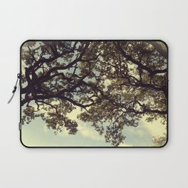 Holding on Laptop Sleeve