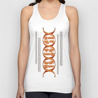 inside gaming Tank Tops featuring Gaming DNA by Doodle Dojo