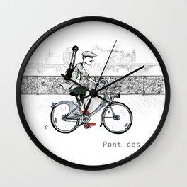 A Few Parisians: Pont des Arts Wall Clock