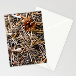 pine needles in yosemite Stationery Cards