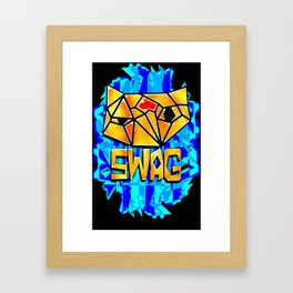 Sexually Confused Cat Framed Art Print
