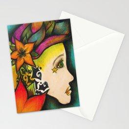 Nicole (Flower) Stationery Cards