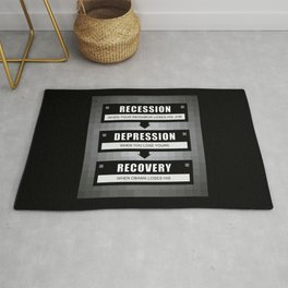 No Recovery With Obama Rug