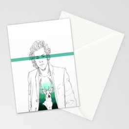 Harry and the deer. Stationery Cards