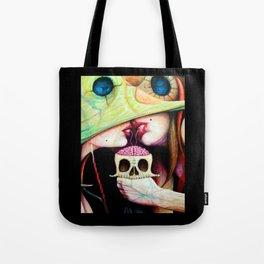 Gods & buffoons (closer)    Eye    Evol    Edge Tote Bag