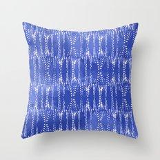 Dot Print - Periwinkle Throw Pillow