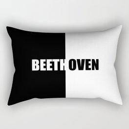 BEETHOVEN, Inspiration Shirt, Beethoven Shirt, Beethoven T Shirt, Beethoven Tshirt, Music Gift, Musi Rectangular Pillow